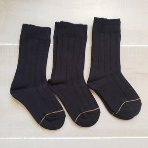 Gold Toe Accessories - Gold Toe Socks 6 Pairs for Kids - Small, Navy
